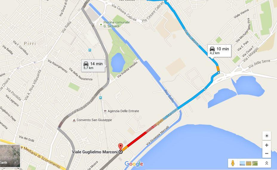 google-maps-traffico